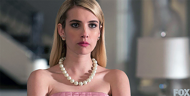 Emma Roberts as Chanel Oberlin in 'Scream Queens'