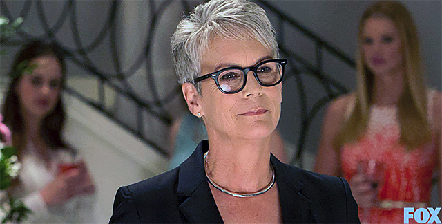 Jamie Lee Curtis as Dean Munsch in 'Scream Queens'
