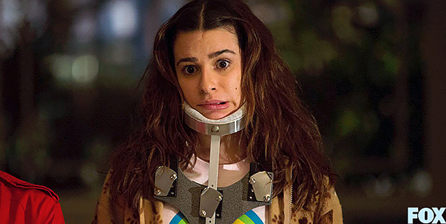 Lea Michele as Hester in-'Scream Queens'